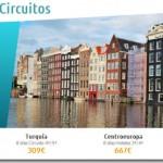 circuitos baratos por europa