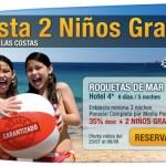 viajes con niños gratis en Agosto 2012