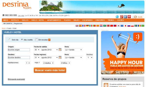 Viajes todo incluido para Septiembre 2012 en Destinia