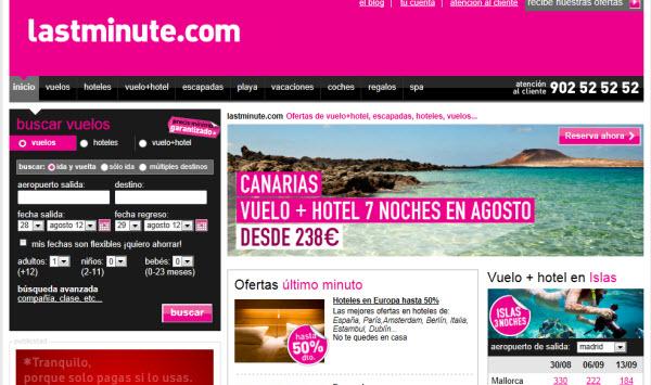 Viajes todo incluido para Septiembre 2012 en Lastminute