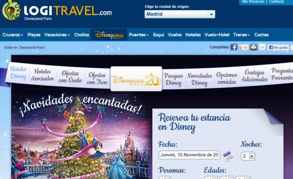 Chollos de viajes a Disneyland París