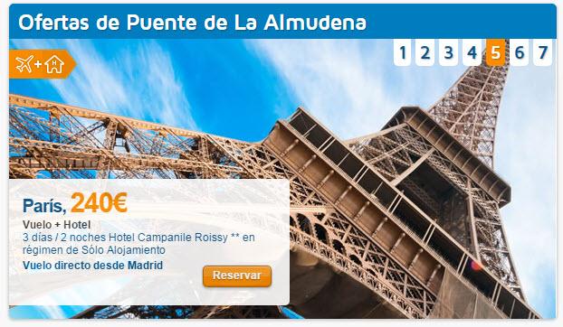 Circuitos baratos Puente de la Almudena