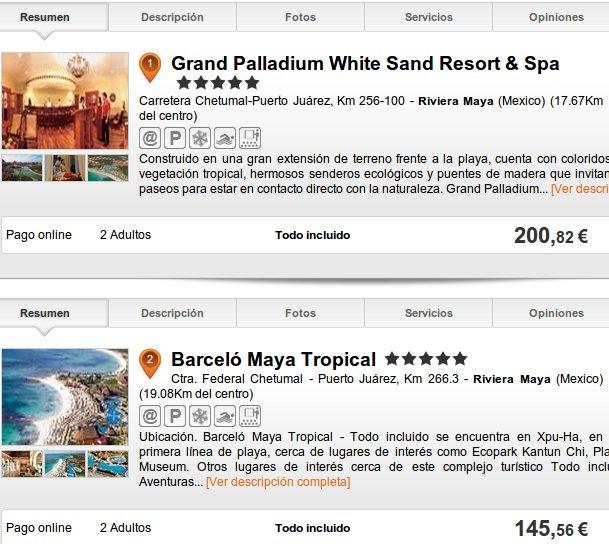 viajes baratos a Riviera Maya con Destinia