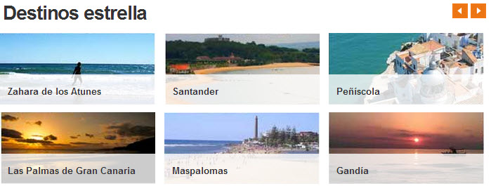 Hoteles de playa baratos en Destinia