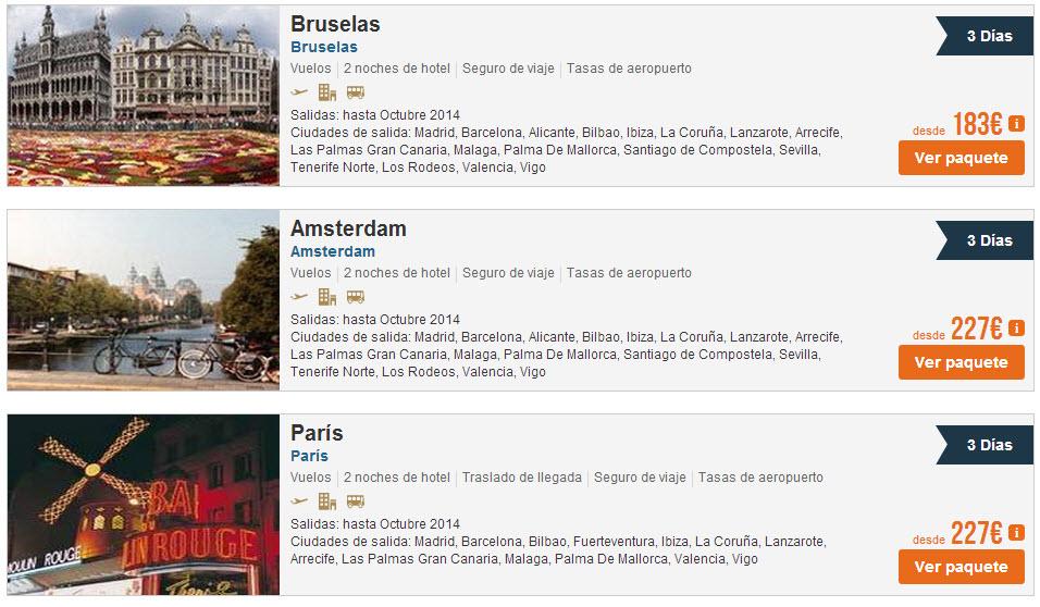 circuitos por europa 2013