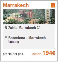 vuelo mas hotel marrakech semana santa