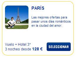 vuelo mas hotel paris semana santa