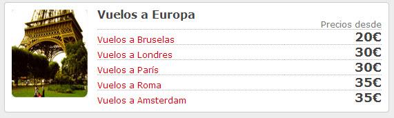 atrapalo vuelos a europa