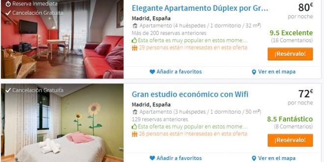 Apartamentos baratos en Madrid 2014: 3 propuestas low cost