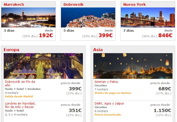 ofertas viajes fin de año europa