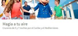 Viajes El Corte Ingles Cruceros 2015: Disney y Caribe
