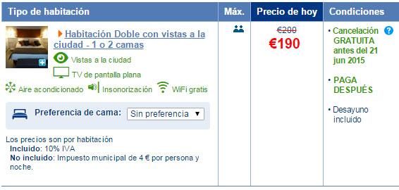 booking alojamientos cancelacion gratuita