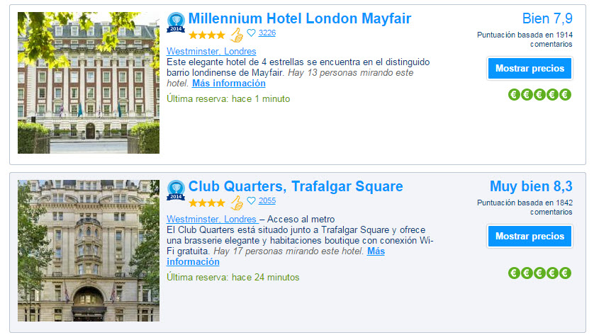booking hoteles 2015
