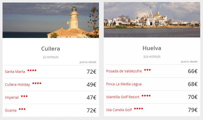 ofertas hoteles agosto
