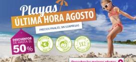 Ofertas ultima hora hoteles de playa Agosto