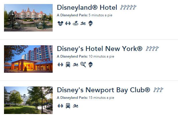 disneyland paris hoteles