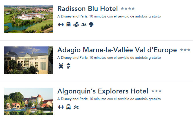 hoteles cerca de Disneyland Paris
