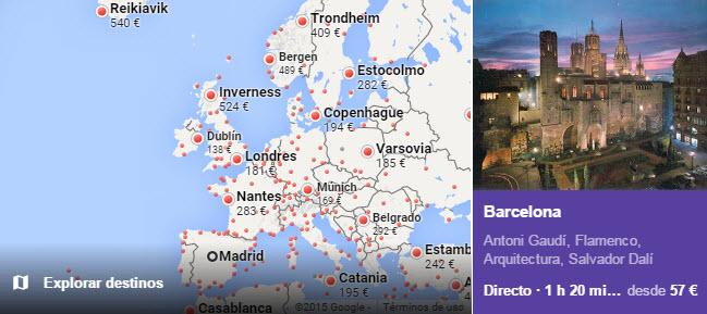 Google Flights: opiniones del comparador de vuelos de Google