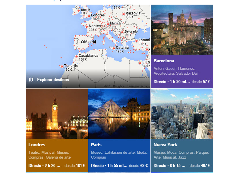 google flights comparador de vuelos