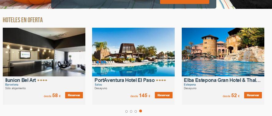 ofertas hoteles puente de noviembre
