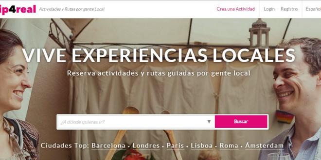 Trip4real: opiniones del portal de rutas y actividades locales