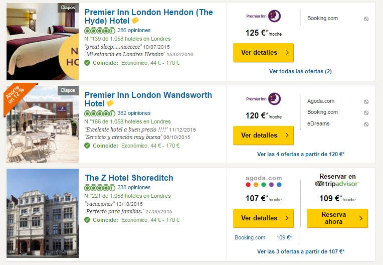 tripadvisor hoteles baratos 2016