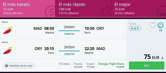 Momondo vuelo más hotel
