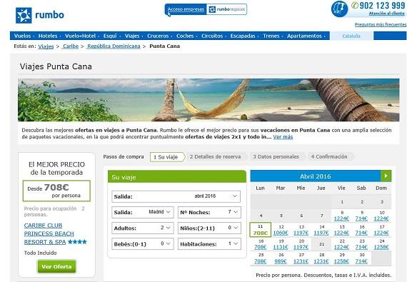 viajes caribe 2016 baratos