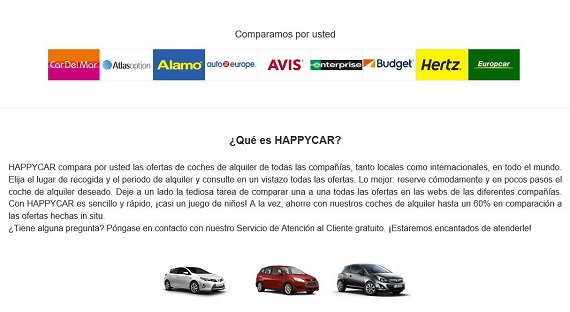 happy car comparador